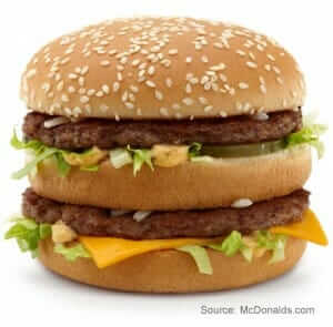 Big Mac vs. Whopper