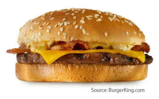 15 Cheap Fast Food Options | BK Stacker | FastFoodMenuPrices.com