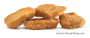 Burger King Chicken Nuggets