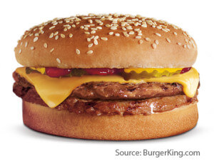 Meet The Burger King Value Menu | Burger King Double Cheeseburger | Fast Food Menu Prices