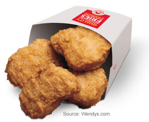 4 Piece Chicken Nuggets