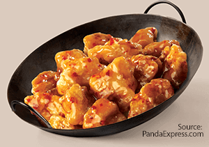 Orange Chicken from Panda Express