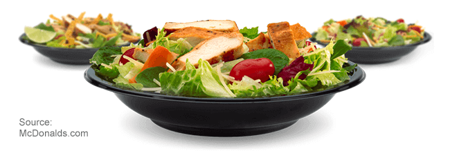 Fast Food Restaurants That Sell Salads