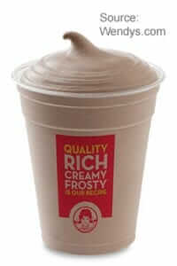 Review of the Wendy's Dollar Menu | Small Frosty | Fast Food Menu Prices