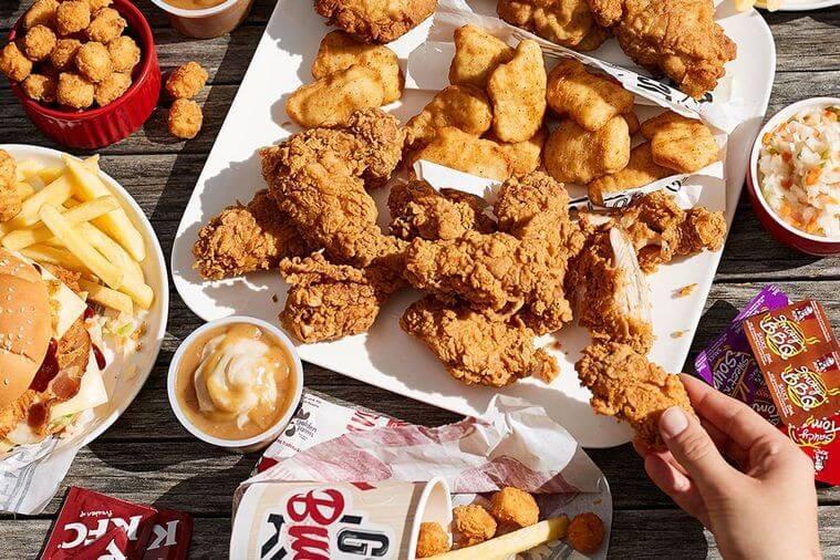An Overview of the History of KFC   KFC Food   FastFoodMenuPrices.com