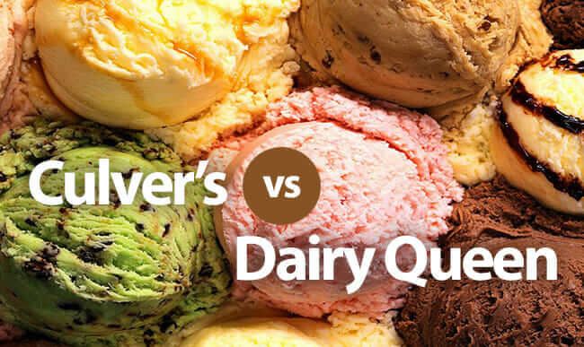 Culver's vs Dairy Queen