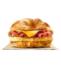 Where to Get the Best Fast Food Breakfast | Burger King Croissan'wich | FastFoodMenuPrices.com