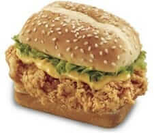 "KFC ""the snacker"""