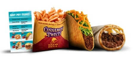 Taco Bells 5 Buck Box And Other Meals Under 5 Taco Bell Fast Food