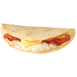 Where to Get the Best Fast Food Breakfast | Dunkin' Donuts Wake Up Wrap | FastFoodMenuPrices.com