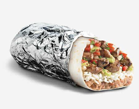 Taco Bell vs Del Taco - Pros and Cons of Each Food Chain   Del Taco Burrito   FastFoodMenuPrices.com