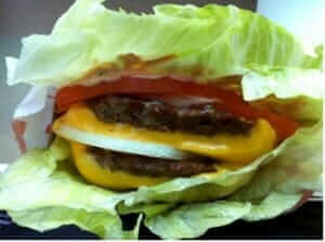 In and Out Protein Style Burger