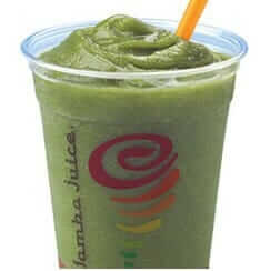 Jamba Juice Green Gummy Bear Smoothie