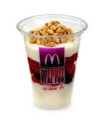McDonald's Fruit 'N Yogurt Parfait