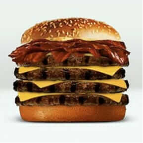 The Suicide Burger from Burger King