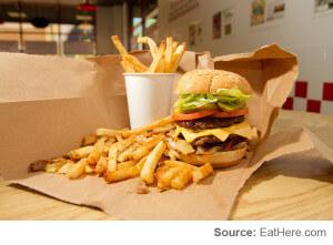 Best Burger: Five Guys