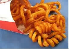 Which Fast Food Chain Gives You the Most Bang for Your Buck | Arby's Curly Fries | Fast Food Menu Prices.com