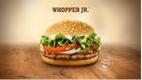 Which Fast Food Chain Gives You the Most Bang for Your Buck | Burger King Whopper Junior | Fast Food Menu Prices.com
