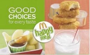 McDonald's new healthy menu