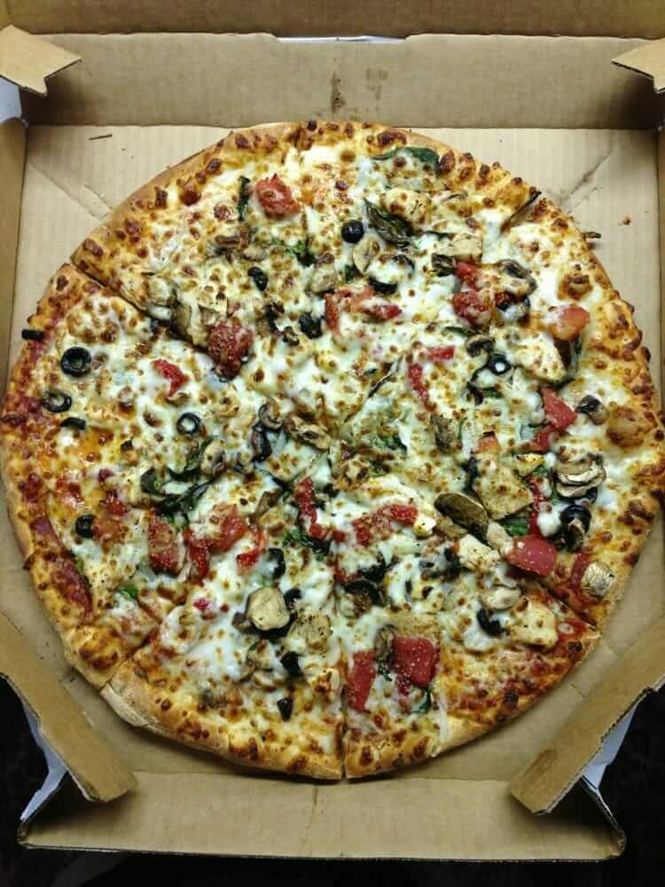 Healthiest Pizza Places to Satisfy Your Cravings | Domino's | FastFoodMenuPrices.com