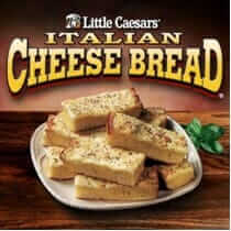 Best Chain Restaurant Desserts and Sides at Little Caesars | Italian Cheese Bread | FastFoodMenuPrices.com