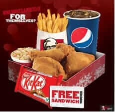 KFC saving coupons