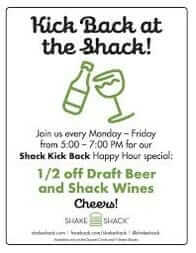Shake Shack Happy Hour