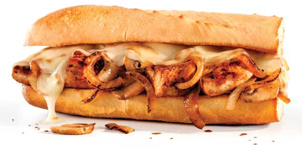 Choosing the Healthiest Food at the Penn Station Menu | Chicken Teriyaki Sandwich | FastFoodMenuPrices.com