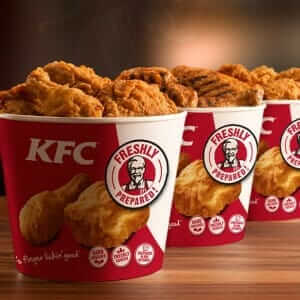 kfc is one of the famous All of our food is freshly prepared in our restaurants using only the highest quality ingredients enjoy a delicious kfc meal today there's something for everyone.