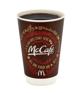 Fast Food Coffee With Most Caffeine