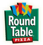 Round table Pizza Simbol