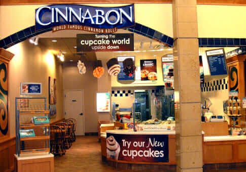 Cinnabon's Products Continue to Capture the Taste of the Nation - Fast Food Menu Prices