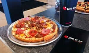 pie five coupon free pizza with drink