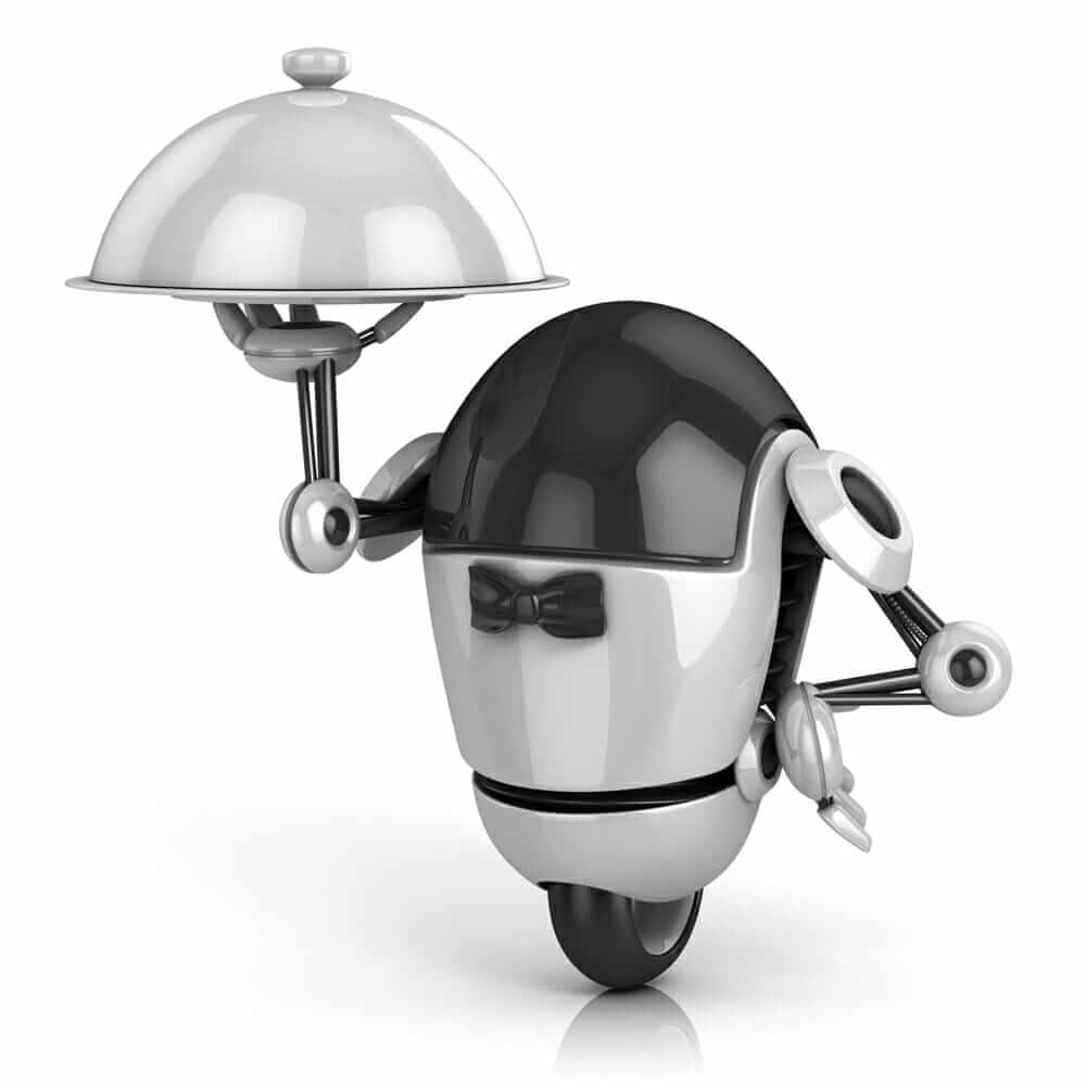robot - waiter