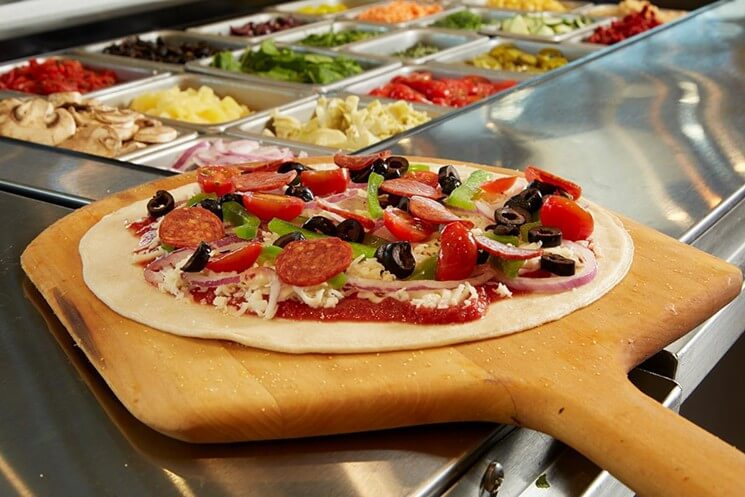 The Race for the Best DIY Pizza is On: Pieology vs. Blaze Pizza | Pieology | FastFoodMenuPrices.com