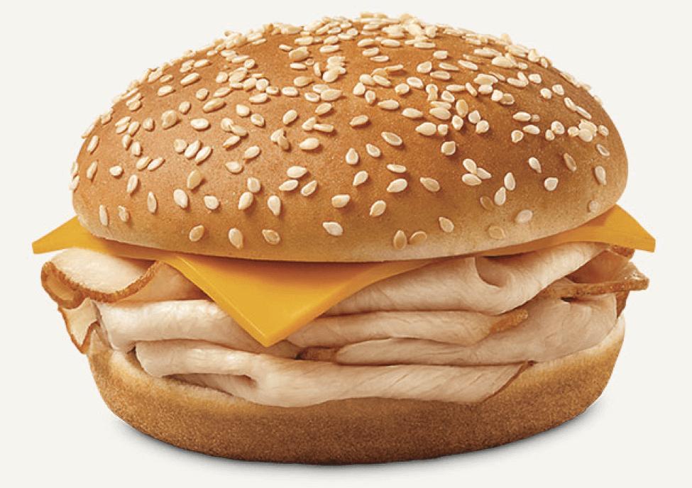 Lowest Cal Burger Fast Food
