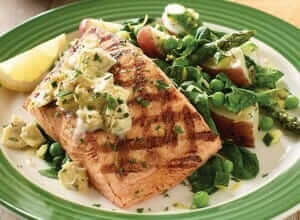 Applebee's Salmon