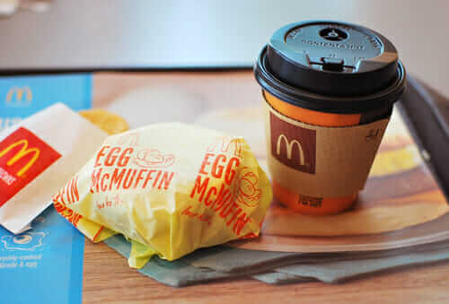 Breakfast at McDonald's