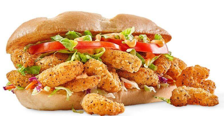 What to Order at Buffalo Wild Wings if You Don't Want Wings | Bayou Po'boy | FastFoodMenuPrices.com