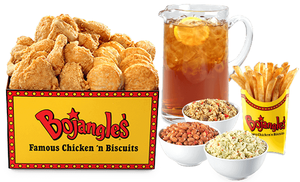 Best Fast Food Meals for the Whole Family | 20-Piece Jumbo Tailgate - Bojangels' | FastFoodMenuPrices.com
