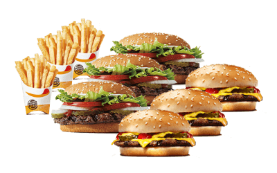 Burger King Family Bundle
