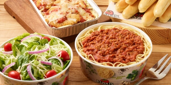 Best Fast Food Meals for the Whole Family | Pasta Meal - Fazoli's | FastFoodMenuPrices.com