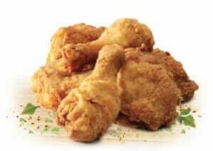 Chicken at KFC