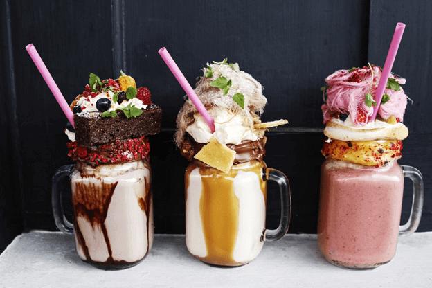 Fast Food Milkshakes Ingredients
