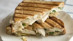 The Best Starbucks Lunch Choices | Chicken Artichoke on Ancient Grain Flatbread | FastFoodMenuPrices.com