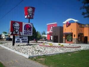 KFC/Taco Bell breakfast