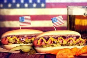 Fourth of July Fast Food