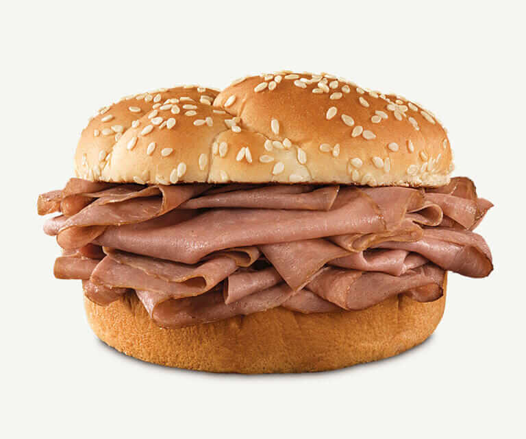 Fast Food Hacks to Make Your Meal Even Better | Arby's Roast Beef Sandwich | Fastfoodmenuprices.com