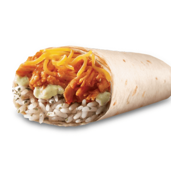 15 Cheap Fast Food Options | Chicken Burrito | FastFoodMenuPrices.com
