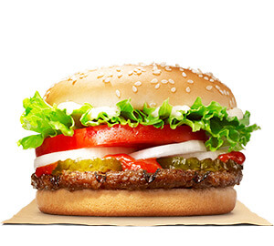15 Cheap Fast Food Options | Whopper Junior | FastFoodMenuPrices.com